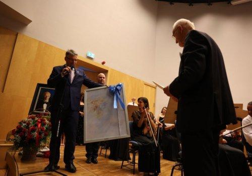 Maestro Czesław Grabowski zagrał pożegnalny koncert z Filharmonią Zielonogórską (ZDJĘCIA)